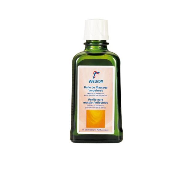 Aceite de masaje piel durante el embarazo