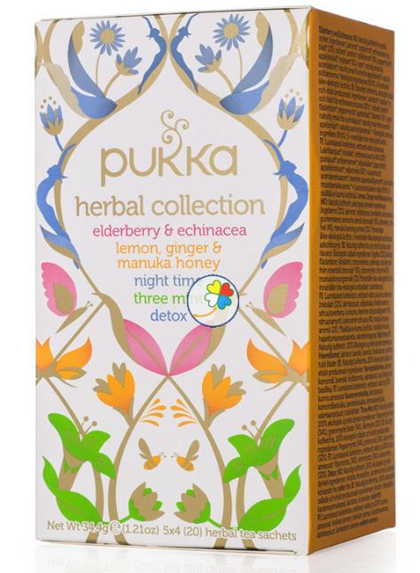 Infusión herbal de colección