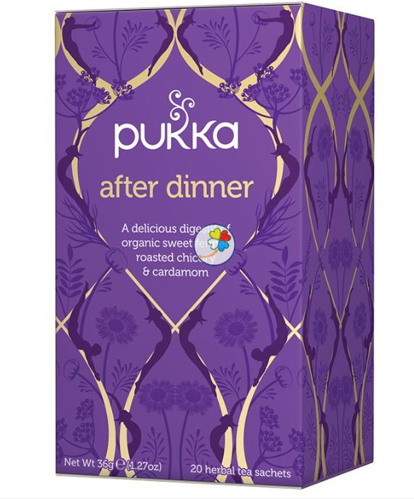 Infusión natural para después de cenar
